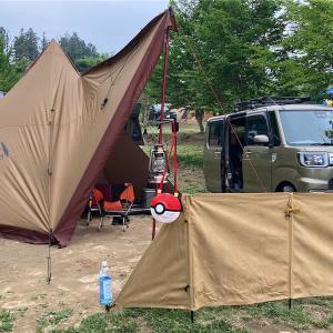 子連れキャンプ@上毛高原キャンプグランド