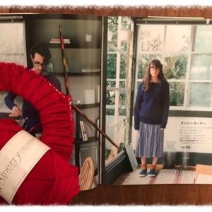 真っ赤なガンジーセーター1