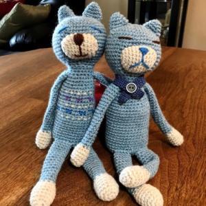 だらだら編みぐるみ猫作りまくり-くせになる(^^)