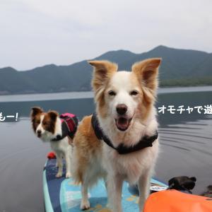 本栖湖SUP遊びの後は美味しい物食べに行こう~♪☆