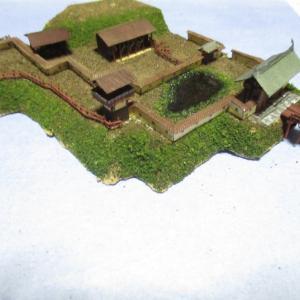 久野城のセレナーデ46 城郭模型製作