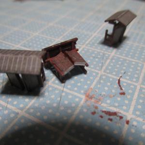 久野城のセレナーデ 53 城郭模型製作