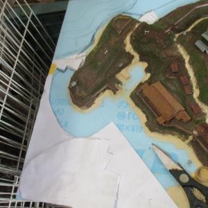 久野城のセレナーデ68 城郭模型製作 Final