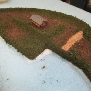 久野城のセレナーデ69 城郭模型製作 Final
