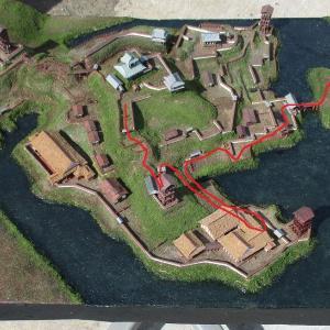 久野城 模型DE城散歩5