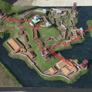 久野城 模型DE城散歩7