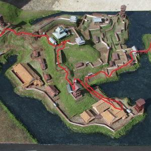 久野城 模型DE城散歩8