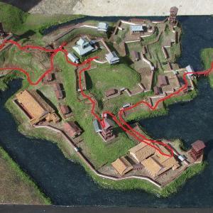 久野城 模型DE城散歩9