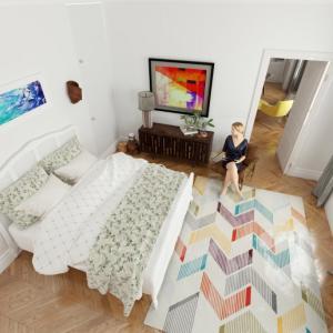 恋愛運(婚活・夫婦仲)を下げる寝室はこれです。