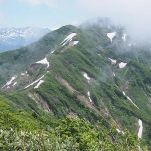 剱岳北方稜線Ⅴ 越中駒ヶ岳