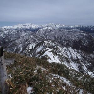 残雪の経ヶ岳登山 【アプデ版】