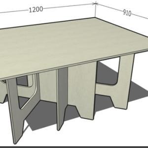 木工29:合板作業台の製作(2021/04/07_25)