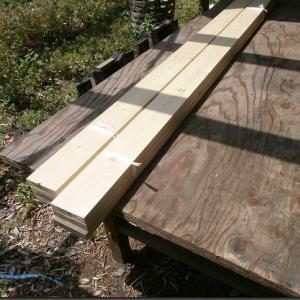 木工32:引出し収納:トリマーで溝彫り(2021/05/09)