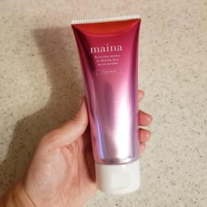 maina洗顔で毛穴の汚れもスッキリ