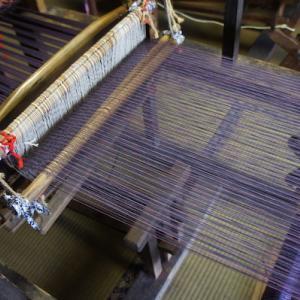 機織り体験はじめます