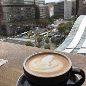 【博多駅:REC COFFEE】で読書♪