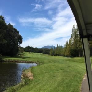 連休は旦那サマとゴルフへ