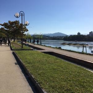 週末は秋晴れ【大濠公園をお気楽散歩~♪】