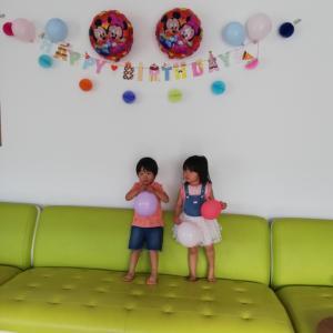 3歳の撮影大会
