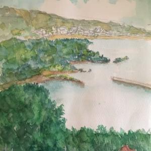 宮城島 シヌグ堂バンタからみる風景