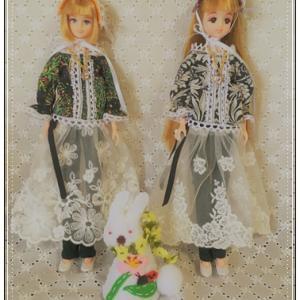 27cmブラウスとスカート、そしてヘドレ