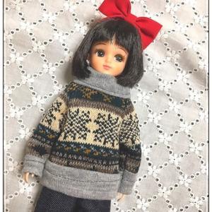 靴下セーター22cm(試作っぽいもの)