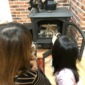 家族が集まる炎