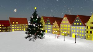 Blender, Terragen 4 クリスマスツリー