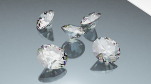 Blender2.82 ダイヤモンド