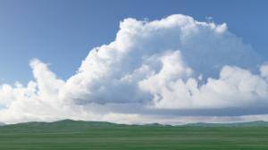 Terragen 4 夏の雲