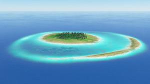 Terragen 4 珊瑚礁
