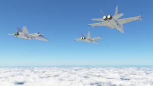 Terrgen 4 F-18 戦闘機