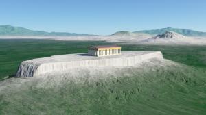 Terragen 4 アクロポリスの丘