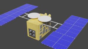 Blender2.91 「はやぶさ2」の制作1