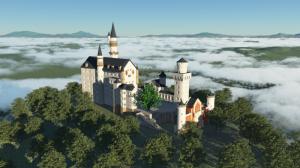 Terragen 4 ノイシュバンシュタイン城のインポート2