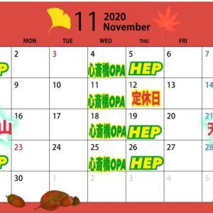 11月・12月の予定
