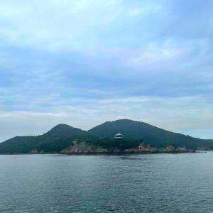 仙酔島でパワーチャージ