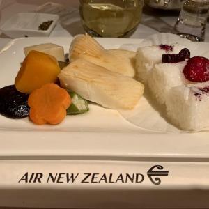 2020年、ニュージーランド航空・国際線初フライトの機内食