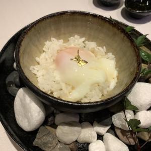トリュフ卵かけご飯とシャンパーニュで隔離ホテル出所祝い!