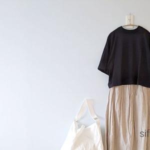 重宝しているstudio CLIPのシンプルリネンロングスカート*夏物最大70%オフ!