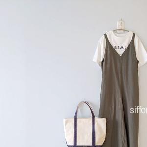 ロゴTとUNIQLOのサロペット*Rakuten Fashion、新作が続々と入荷!クーポンも使えます♪