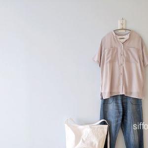 半袖シアーシャツにデニム*NARUなどクーポンで20%〜60%オフ!