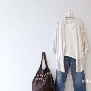 ミントカラーのシャツワンピをブラウンのバッグとコーデ*moonstar810s在庫あります!