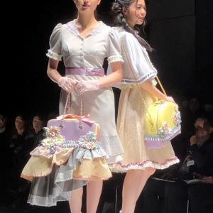 ファッションショーに行ってきました