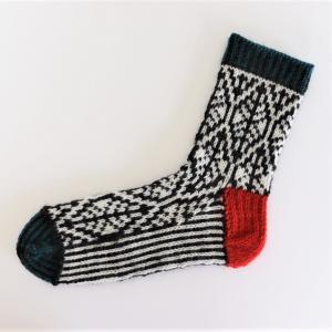 オリジナルの靴下を編んでみたい