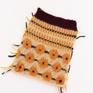 靴下のスワッチを編んでみた