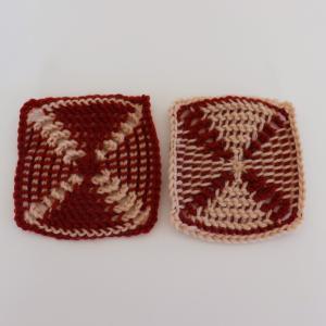 クンストアフガン編み