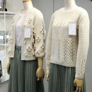 毛糸メーカーさんの2021-2022秋冬展示会に行ってきました