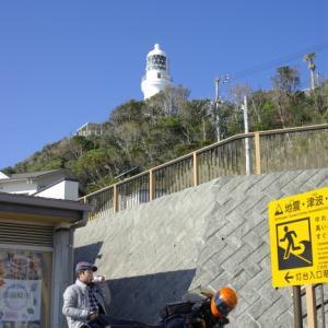 R80 御前崎灯台へ