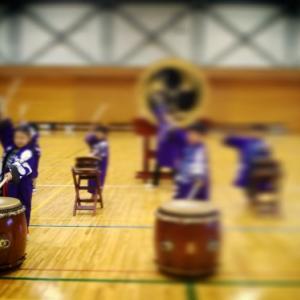 和太鼓と風船・・